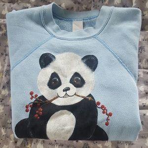 Coming Soon! Hand painted Panda Bear Sweatshirt